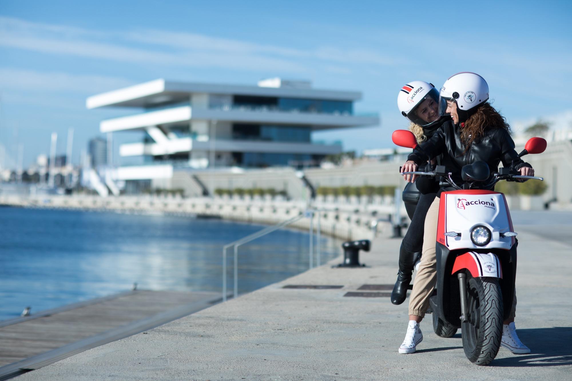 Expansión comercial y motosharing