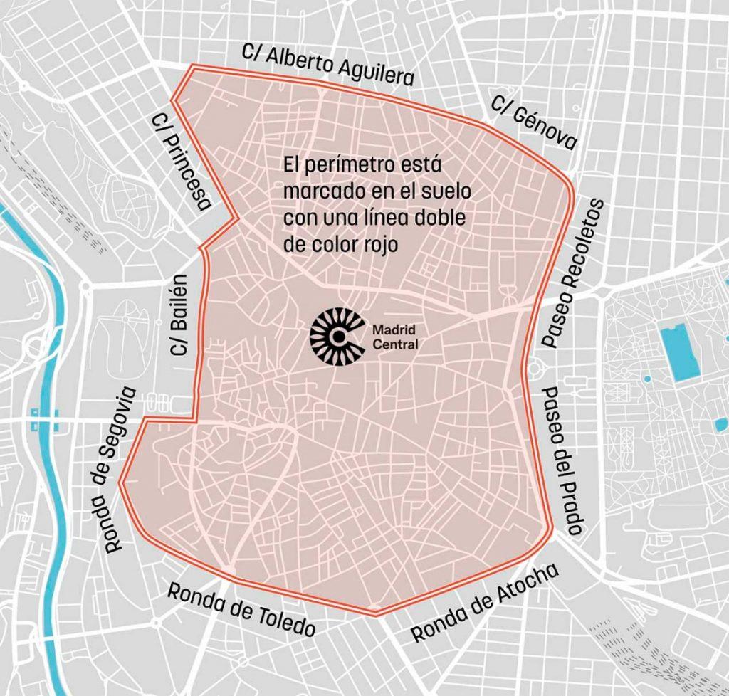 Nuevo protocolo de contaminación en Madrid Central 12