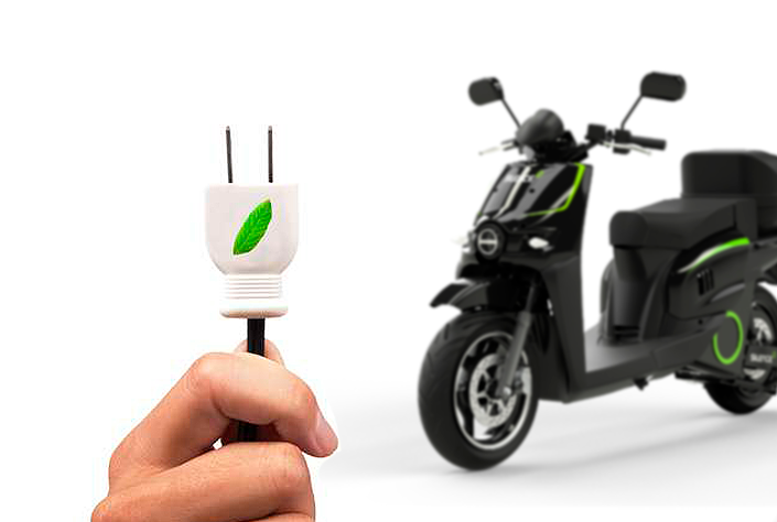 ¿Está permitido cargar la moto eléctrica en el trabajo? 6