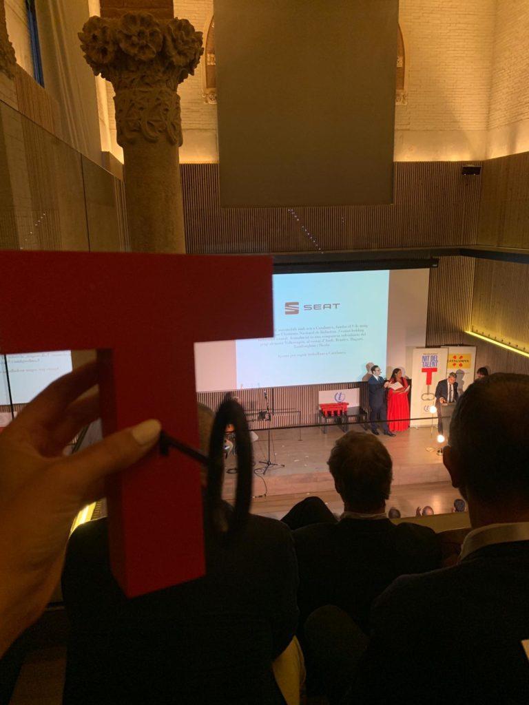 Silence recibe el 'Premi Talent' de Emprendedores en Movilidad 2