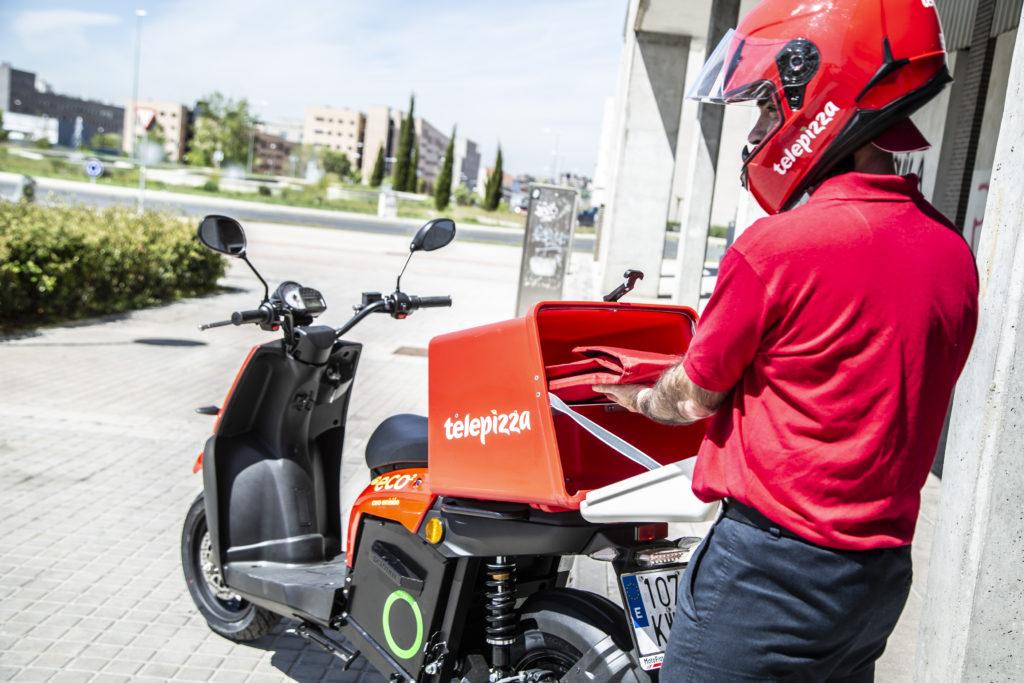 Elegir un scooter eléctrico para el food delivery 4