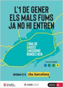 Las zonas de bajas emisiones comienzan en Barcelona y Madrid 2