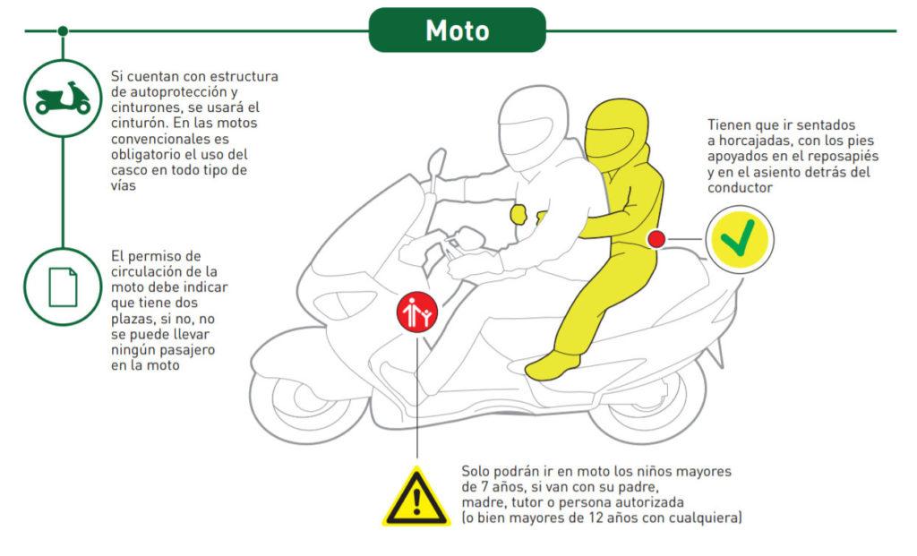 ¡Papá/mamá llévame al colé en moto! 8