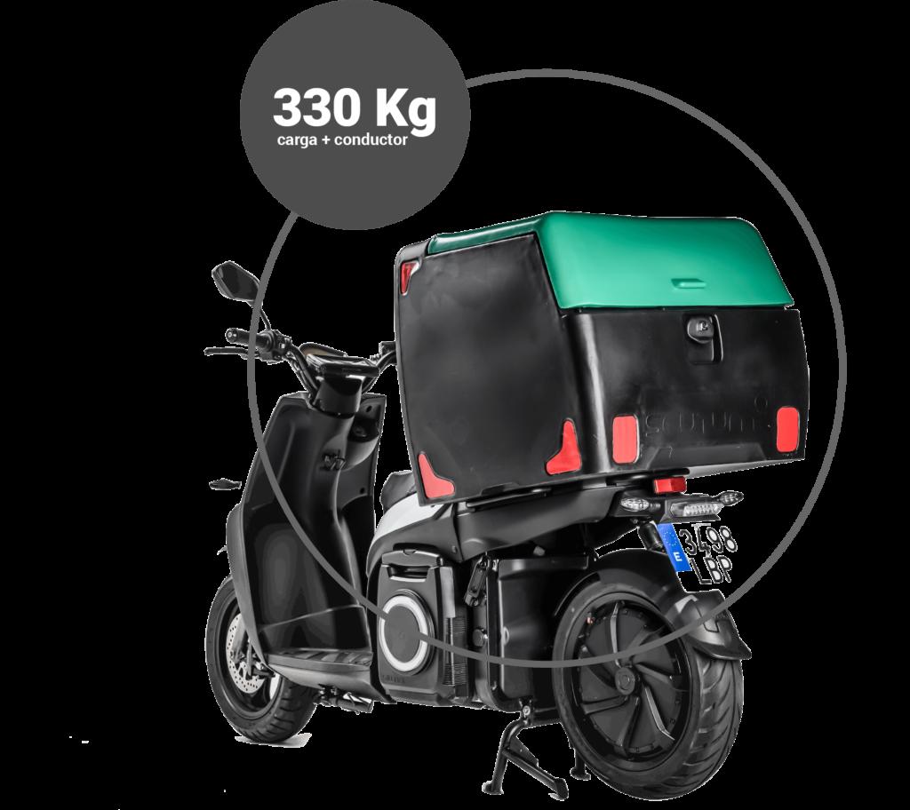 330kg cargaconductor