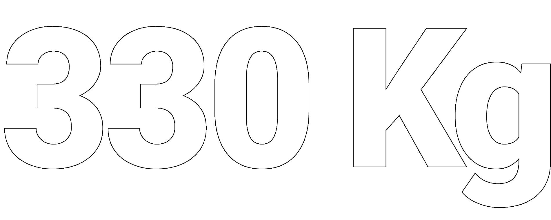 330 kg