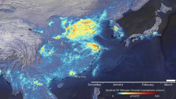 El COVID-19 demuestra que el tráfico es la principal causa de contaminación 12