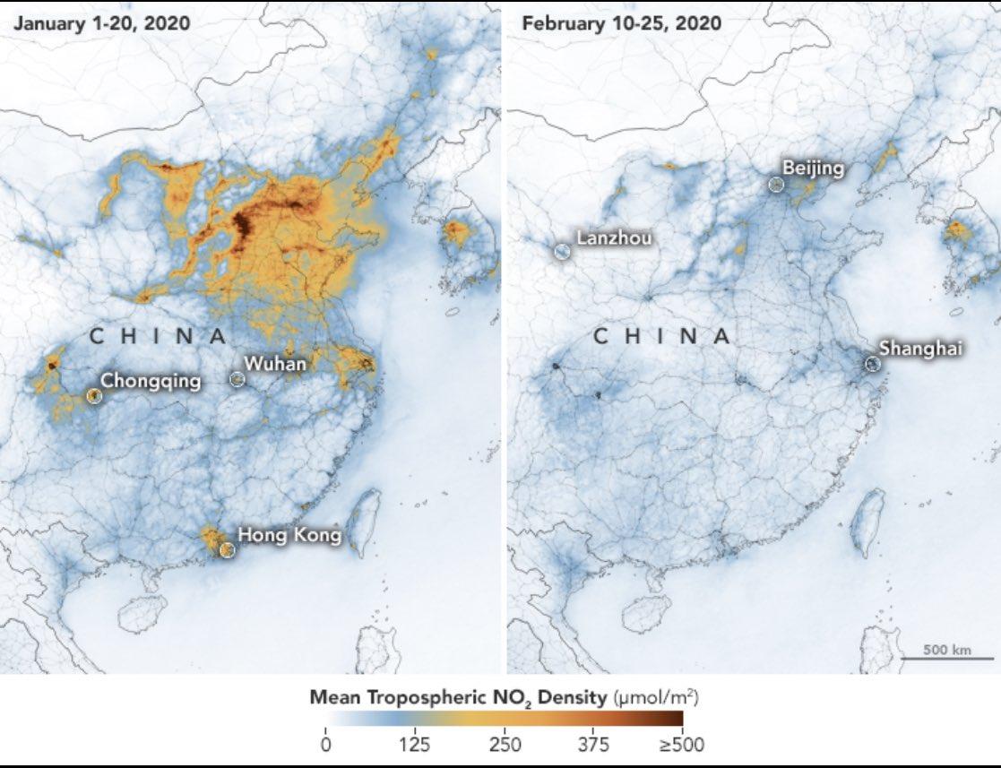 El COVID-19 demuestra que el tráfico es la principal causa de contaminación 11
