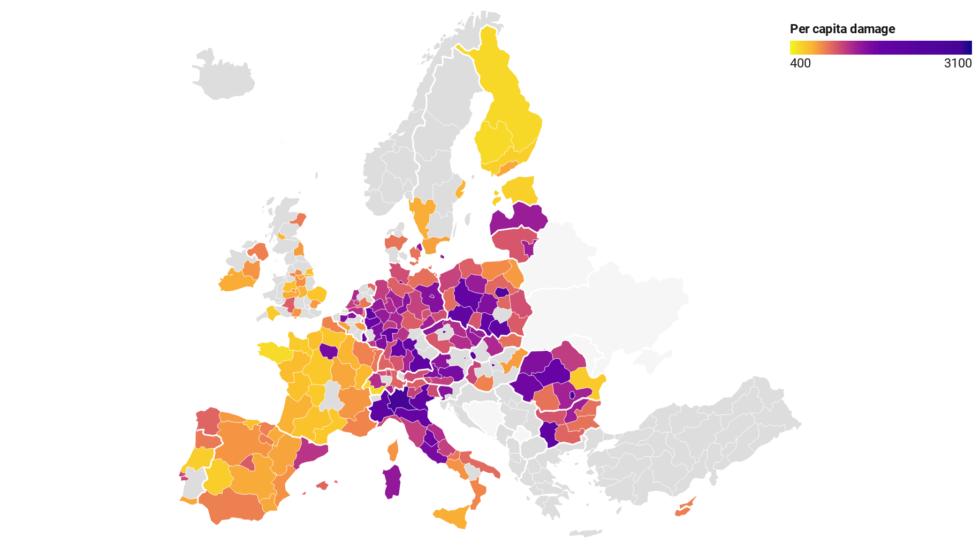 La contaminación no solo mata, cuesta a cada español unos 1.000€ anuales 1