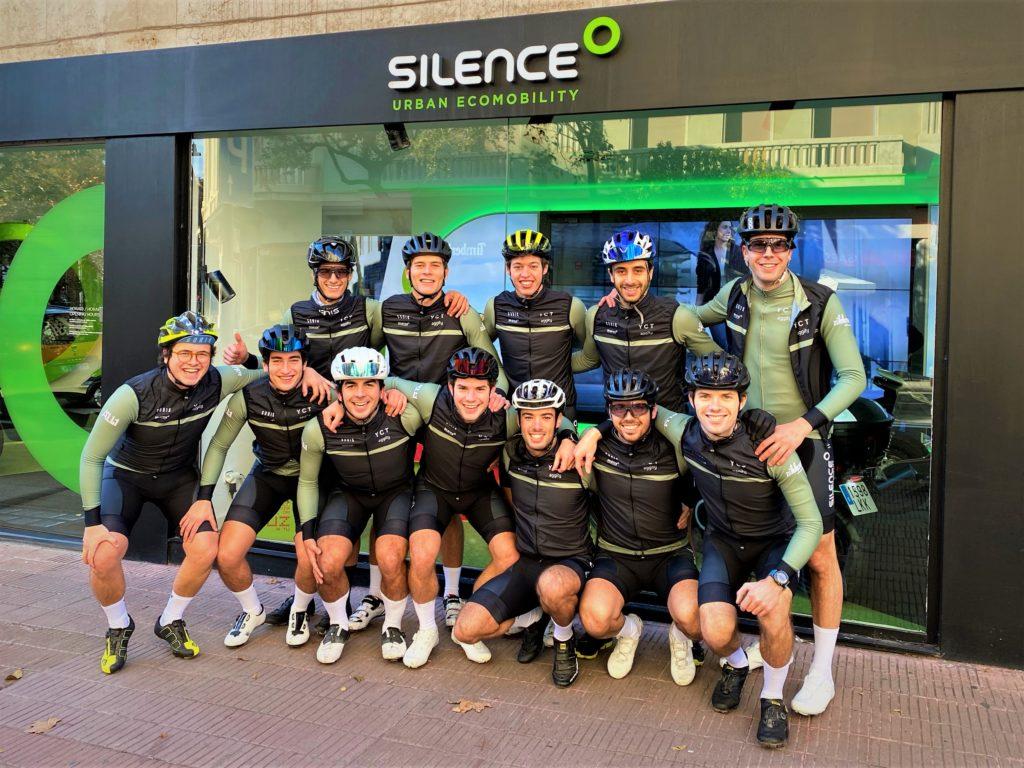 Silence, patrocinador oficial del Yvng Cycling Team 1